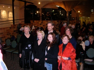 I'm on the left of the photo at Elthma Library were I was awarded second place in the Alan Marshall Short Story Award. The judge was the wonderful storyteller, Cate Kennedy,